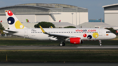 F-WWDQ - Airbus A320-214 - Viva Air Colombia