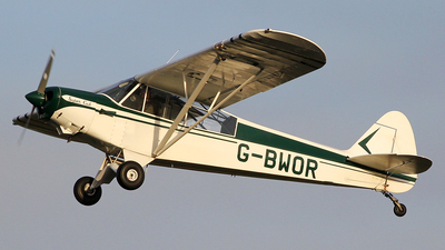 A picture of GBWOR - Piper PA18135 Super Cub - [182547] - © Ian Howat