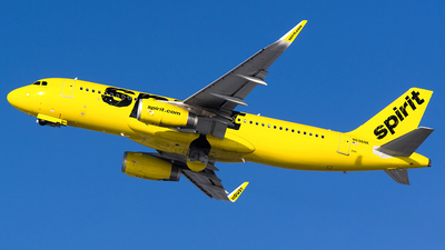 A picture of N696NK - Airbus A320232 - Spirit Airlines - © John Newsome