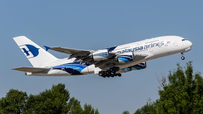9M-MNB - Airbus A380-841 - Malaysia Airlines