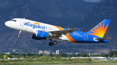 A picture of N315NV - Airbus A319111 - Allegiant Air - © Michael Rodeback