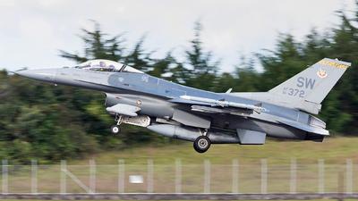 91-0372 - Lockheed Martin F-16C Fighting Falcon - United States - US Air Force (USAF)