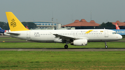 V8-RBV - Airbus A320-232 - Royal Brunei Airlines