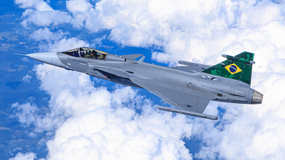 FAB4100 - Saab F-39E Gripen - Brazil - Air Force