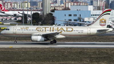 A picture of A6EIP - Airbus A320232 - Etihad Airways - © Furkan Borakazi