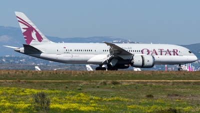 A picture of A7BCL - Boeing 7878 Dreamliner - Qatar Airways - © John Leivaditis