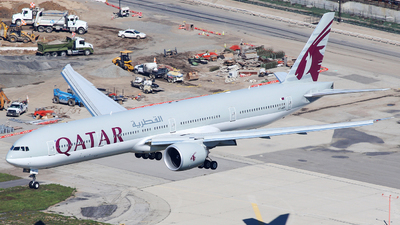 A7-BEF - Boeing 777-3DZER - Qatar Airways