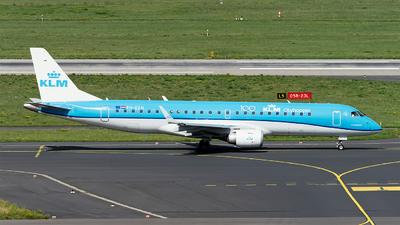 A picture of PHEZH - Embraer E190STD - KLM - © Sebastian Thiel