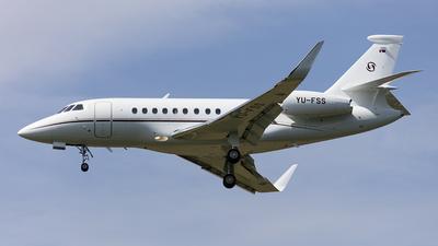 YU-FSS - Dassault Falcon 2000LX - Prince Aviation