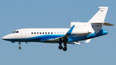 OO-GPE - Dassault Falcon 900LX - Luxaviation