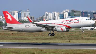 A6-AOA - Airbus A320-214 - Air Arabia