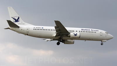 SX-DAV - Boeing 737-4Q8 - Bluebird Airways