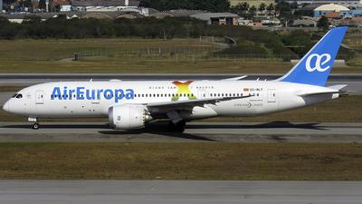EC-MLT - Boeing 787-8 Dreamliner - Air Europa