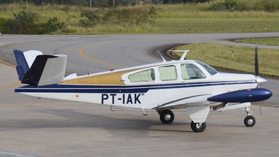 PT-IAK - Beechcraft 35 Bonanza - Private