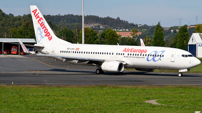 A picture of ECLXV - Boeing 73785P - Air Europa - © Alberto Maroto - LCG Spotters