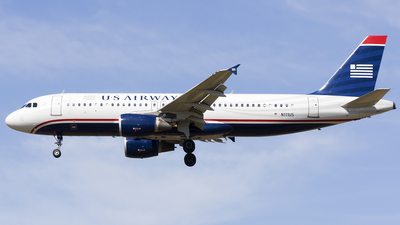 N111US - Airbus A320-214 - US Airways