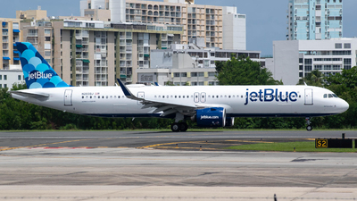 N2039J - Airbus A321-271NX - jetBlue Airways