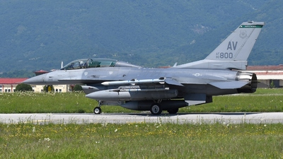 90-0800 - General Dynamics F-16D Fighting Falcon - United States - US Air Force (USAF)