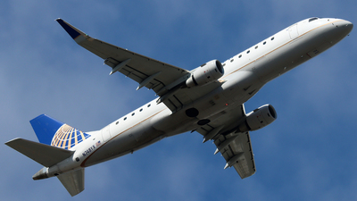 A picture of N748YX - Embraer E175LR - United Airlines - © Xiamen Air 849 Heavy
