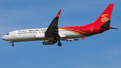 A picture of B5413 - Boeing 73787L - Shenzhen Airlines - © Predic. LXY!