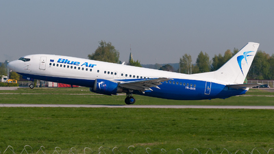 YR-BAR - Boeing 737-4Q8 - Blue Air