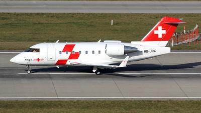 HB-JRA - Bombardier CL-600-2B16 Challenger 604 - REGA - Swiss Air Ambulance