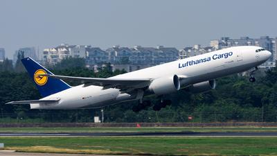 A picture of DALFB - Boeing 777FBT - Lufthansa Cargo - © Marcus Yu