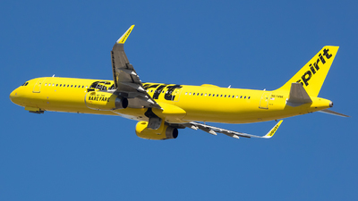 A picture of N674NK - Airbus A321231 - Spirit Airlines - © Stephen J Stein
