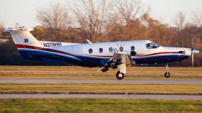 N378HH - Pilatus PC-12/45 - Private