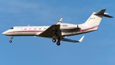 B-8252 - Gulfstream G450 - BAA - Business Aviation Asia(Ovation Travel Group)