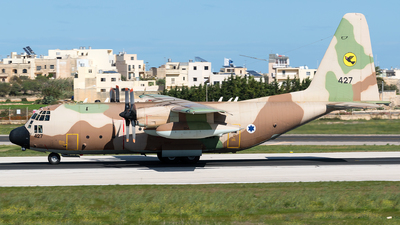 427 - Lockheed C-130H Karnaf - Israel - Air Force