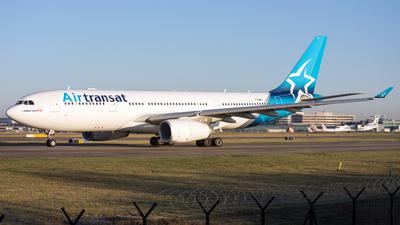 A picture of CGUBH - Airbus A330243 - Air Transat - © David John Dillon