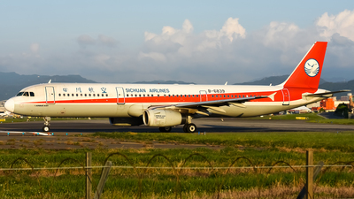 B-6839 - Airbus A321-231 - Sichuan Airlines