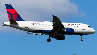 N347NB - Airbus A319-114 - Delta Air Lines