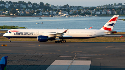 G-XWBF - Airbus A350-1041 - British Airways