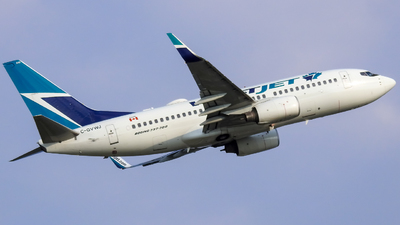 A picture of CGVWJ - Boeing 7377CT - WestJet - © WorldTraveler225