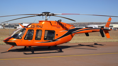 ZS-RHJ - Bell 407 - Private