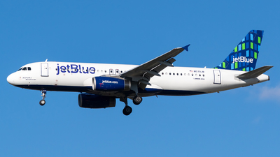 A picture of N570JB - Airbus A320232 - JetBlue Airways - © Evan Dougherty