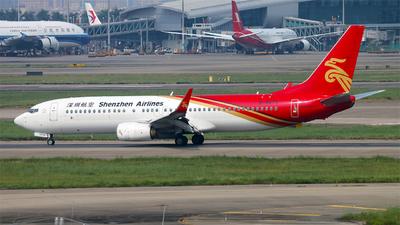 B-5673 - Boeing 737-87L - Shenzhen Airlines