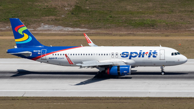 A picture of N637NK - Airbus A320232 - Spirit Airlines - © Marcel Hohl