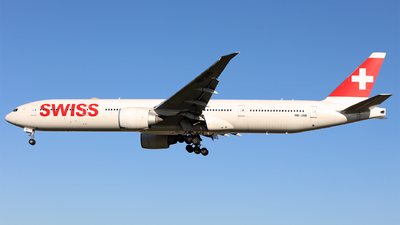 HB-JNB - Boeing 777-3DEER - Swiss