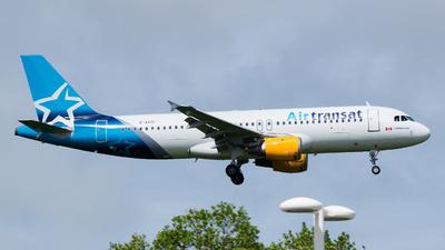 D-AICD - Airbus A320-212 - Air Transat (Condor)