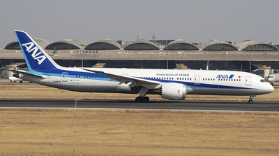 A picture of JA883A - Boeing 7879 Dreamliner - All Nippon Airways - © SEN BAI