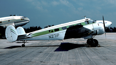 N271P - Beech 18 - Private