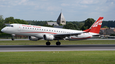 4L-TGH - Embraer 190-100IGW - Georgian Airways