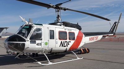 N987SF - Bell UH-1H Iroquois - United States - Nevada Division of Forestry
