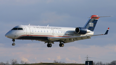 N433AW - Bombardier CRJ-200LR - US Airways Express (Air Wisconsin)