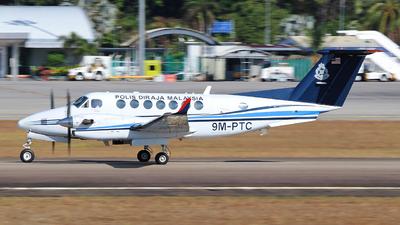 9M-PTC - Beechcraft B300 King Air 350 - Malaysia - Police