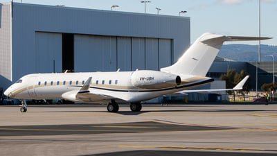 VH-UBH - Bombardier BD-700-1A10 Global 6000	 - Private