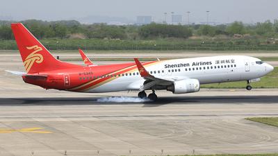 B-5345 - Boeing 737-86N - Shenzhen Airlines